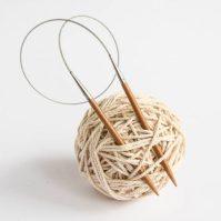 Druty bambusowe na stalowej żyłce