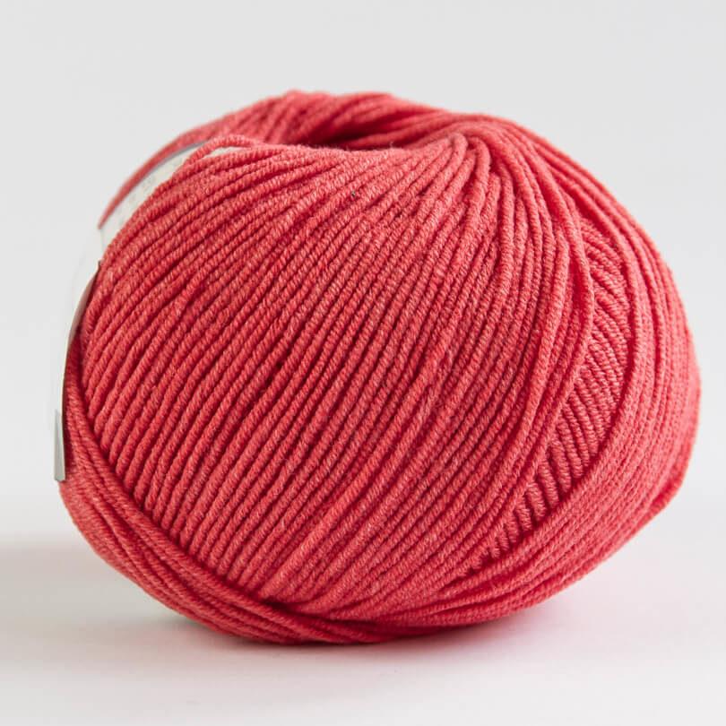 Włóczka JEANS YarnArt - kolor 26 czerwony