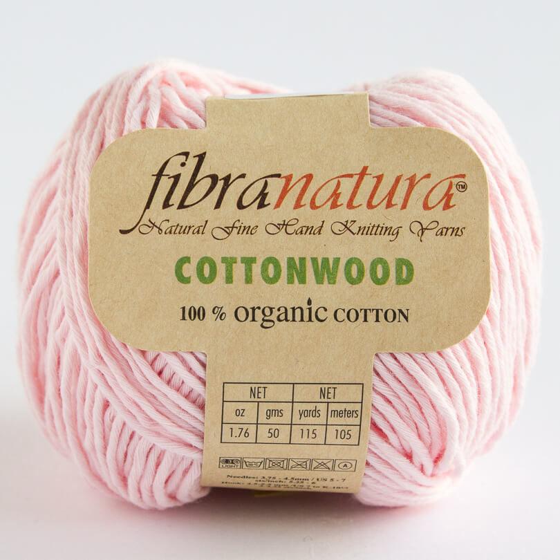 Włóczka Cottonwood Fibra Natura - kolor 41122 jasny róż