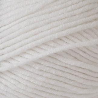 Włóczka JEANS PLUS YarnArt - kolor 62 biały