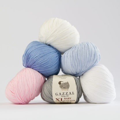 Włóczka Baby Cotton XL – Gazzal