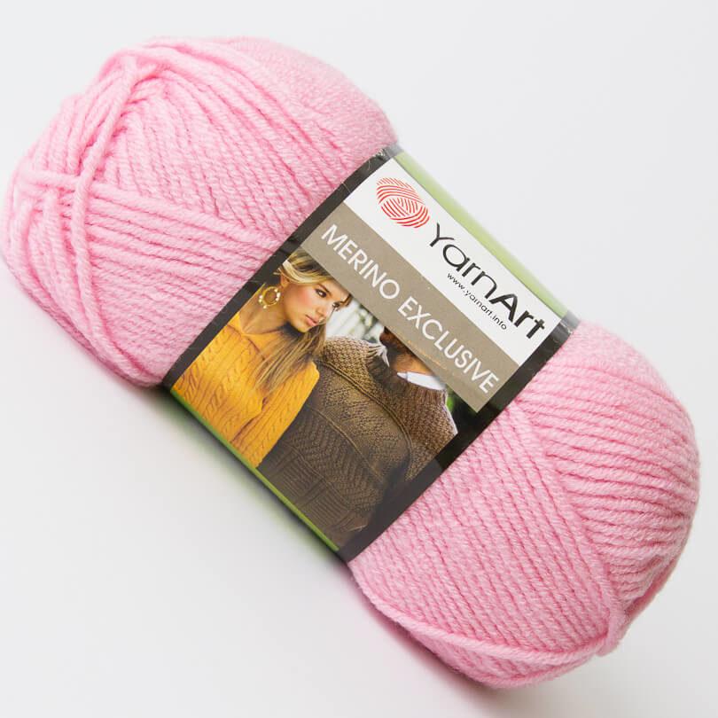 Włóczka Merino Exclusive - YarnArt - kolor 766 różowy