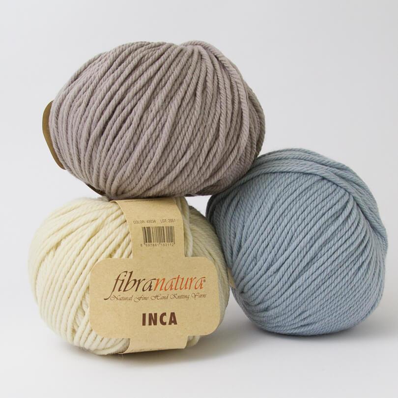 Włóczka INCA - Fibra Natura